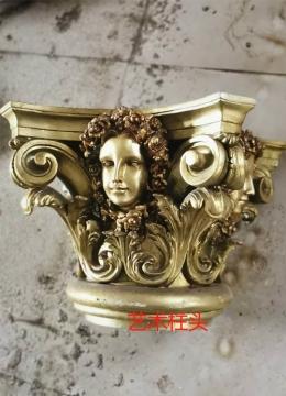 艺术罗马柱头